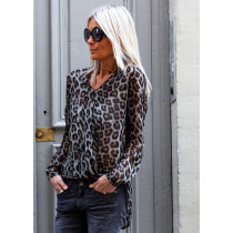 BLOUSE GM DANDY LEOPARD